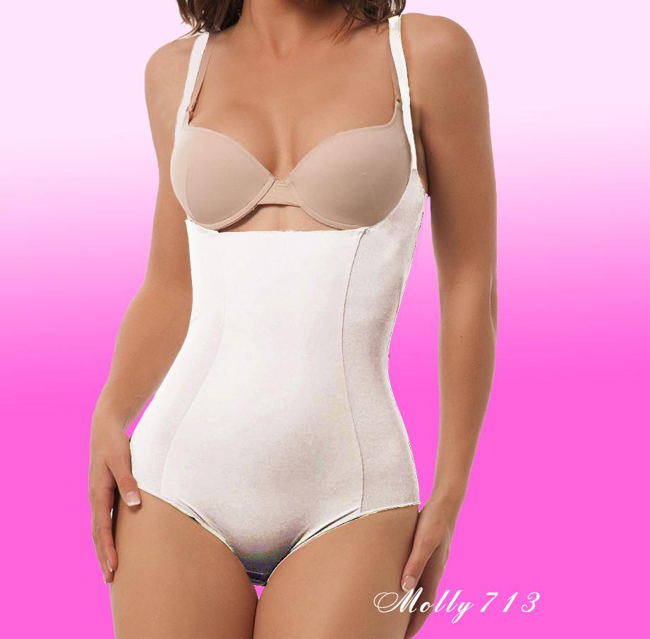 251a93ba8e23 Утягивающее боди с открытой грудью Molly 713