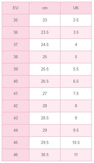 Размеры женских и мужских носков Soxo