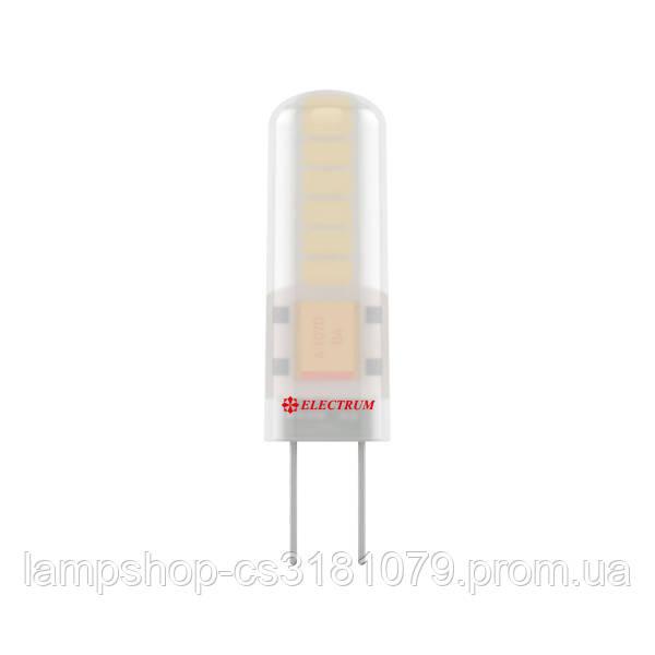 Лампа светодиодная капсула LC-12 1,5W GU4 12V 3000K силиконовый корп. A-LC-0974