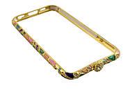 Железный бампер чехол nks1  6 / 4,7 -- золотой, цветной, фото 1