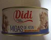 Тунец Didi Migas De Atun, 1000 мл (Испания)