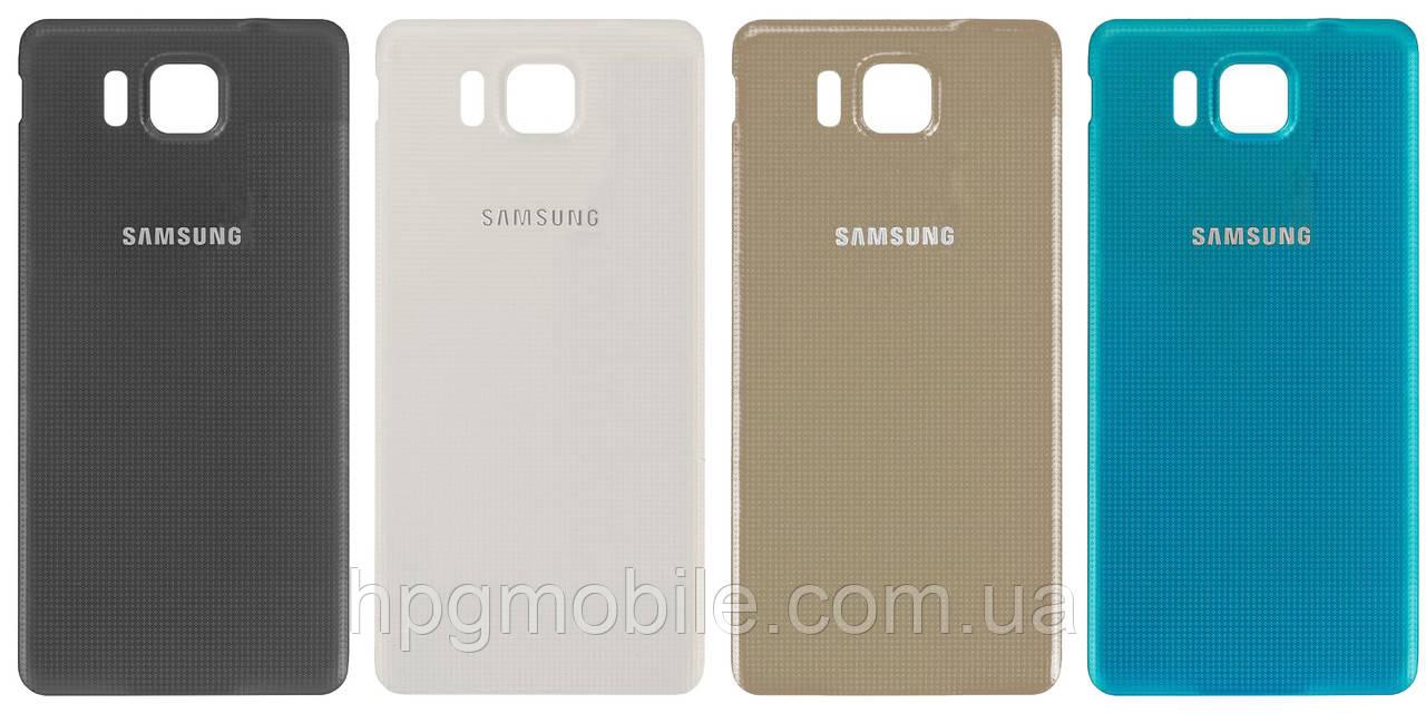 Задняя панель корпуса (крышка аккумулятора) для Samsung Galaxy Alpha G850F