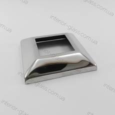 Декоративная чашка для квадратной стойки, внутренний размер 50*50 мм ST-425A