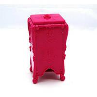 Подставка для салфеток с бабочкой G55, розовая, подставка для косметики, подставка для салфеток, косметические принадлежности, стакан для салфеток