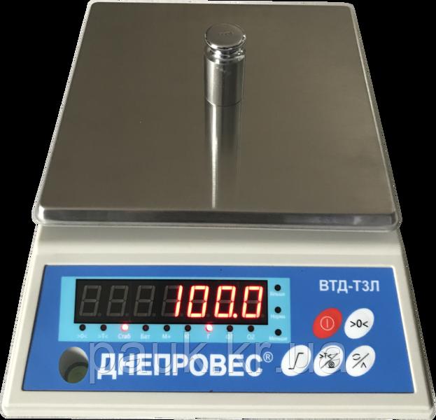 Фасувальні кухонні ваги, 6кг ВТД-Т3Л