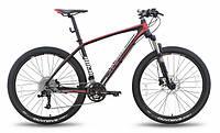 """Велосипед 27,5'' PRIDE XC-650 PRO 1.0 рама - 21"""" черно-красный матовый 2015"""