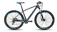 "Велосипед 27,5'' PRIDE XC-650 PRO 3.0 рама - 17"" черно-синий матовый 2015"