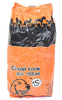Аsi корм для собак со вкусом курицы 1 кг