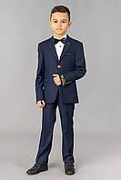 Детский синий модельный костюм для мальчика Doni Ricce 0362