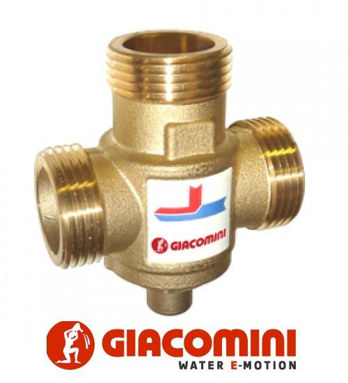 Антиконденсатний термостатичний змішувальний клапан 1 (45 °C), Kv 3,2, Giacomini