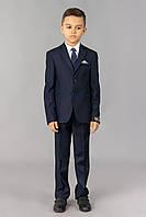 Модельный костюм для мальчика тёмно-синего цвета Doni Ricce 0364