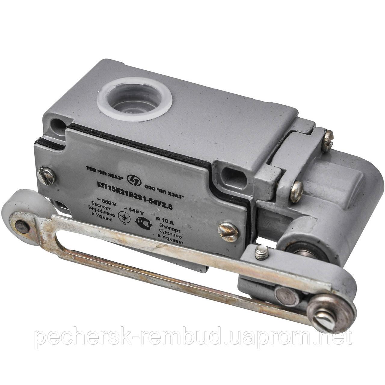 Выключатель путевой ВП15 К 21Б 291 -54У2.8
