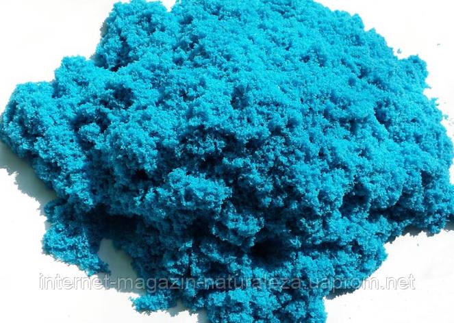 Кинетический песок Waba fun 2,3 кг голубой, фото 2