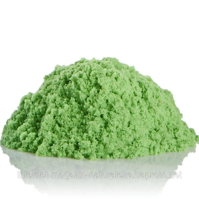 Кинетический песок Waba fun 2,3 кг зеленый