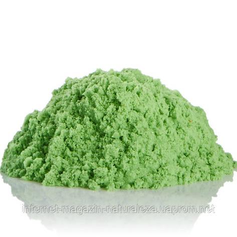 Кинетический песок Waba fun 2,3 кг зеленый, фото 2