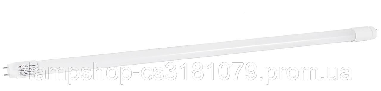 Лампа светодиодная DELUX FLE-002 24 Вт T8 6500K 220В G13 стекло холодный белый