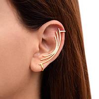 Какие позолоченные украшения носить девушкам, у которых не проколоты уши?
