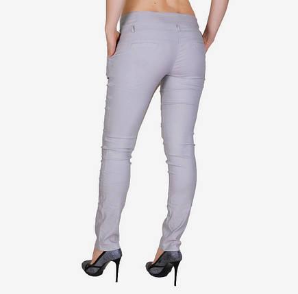 Бежевые брюки стрейч (арт. W031-3), фото 2