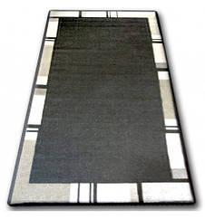 Ковер SIZAL FLOORLUX 80x150 см 20195 черный / серый