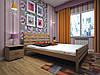 Ліжко з натурального дерева ДОМІНО 2