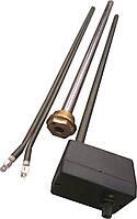 """Тен в алюминиевый и биметал. радиатор мощность-900 Вт, гайка 1"""" резьба правая или левая"""