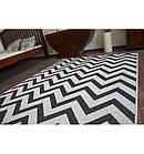 Ковер SIZAL FLOORLUX 80x150 см 20340 серый / черный, фото 3