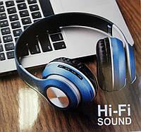 Беспроводные bluetooth наушники + FM +MP3 плеер,  ST-33, фото 1