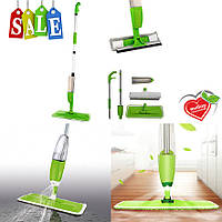 Швабра с распылителем Healthy Spray Mop зеленая