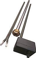 """Тен в алюминиевый и биметал. радиатор мощность-1000 Вт, гайка 1"""" резьба правая или левая"""