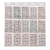 Слайдер дизайн, наклейки для маникюра, в ассортименте