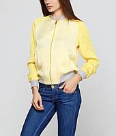 Куртка женская Stradivarius 2581/259/300 L Желтый (02581259300045)