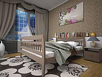 Ліжко з натурального дерева РОНДО