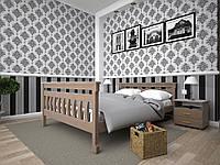 Ліжко з натурального дерева РОНДО 2