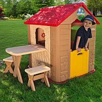 Домик детский игровой со столиком