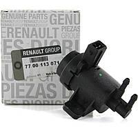 Клапан управления турбины на Рено Трафик 2 1.9 dCI, 2.0 dCI, 2.5 dCI Renault 7700113071 (оригинал)