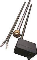 """Тен в алюминиевый и биметал. радиатор мощность-1200 Вт, гайка 1"""" резьба правая или левая"""