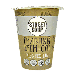 Крем-Суп STREET SOUP грибной 50г стакан, 30шт/ящ