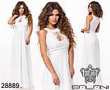 Вечернее платье макси в пол длинное размеры 42-46 , фото 3