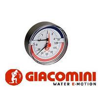 Термоманометр 1/2 x 6  bar Giacomini