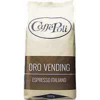 Зерновой Кофе Поли Оро Вендинг Caffe Poli Oro Vending Арабика 20% Робуста 80%