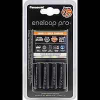 Зарядное устройство eneloop panasonic smart-quick charge 4хaa 2500 mah (k-kj55hcd40e)