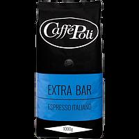 Зерновой Кофе Поли Экстрабар Caffe Poli Extrabar Арабики 80% Робусты 20%