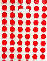 Пакет поліетиленовий Банан Горох 35 х45 см / уп-100шт