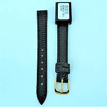 12 мм  Кожаный Ремешок для часов CONDOR 343.12.01 Черный Ремешок на часы из Натуральной кожи, фото 2