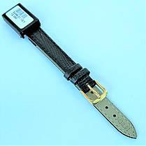 12 мм  Кожаный Ремешок для часов CONDOR 343.12.01 Черный Ремешок на часы из Натуральной кожи, фото 3