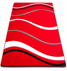 Ковер FOCUS - 8732 60x100 см красный линии