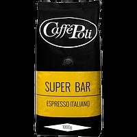 Зерновой Кофе Поли Супербар Caffe Poli Superbar Арабика 90% Робуста 10%