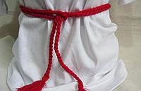 Пояс из ниток для вышиванки