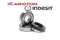 Подшипники SKF 204, SKF 205 и сальник 30х52х8,5/10,5 для стиральных машин Indesit/Ariston