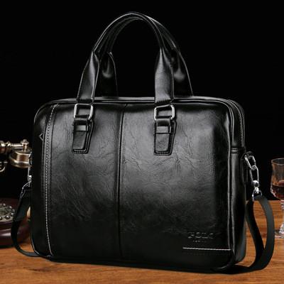 Мужской портфель-сумкаPolo Vicuna V6620 черный